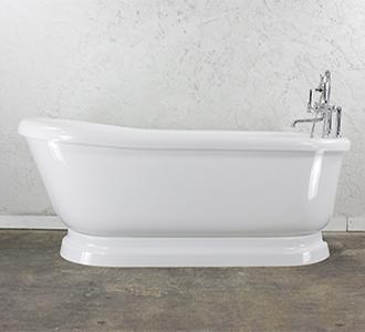 Baths Of Distinction Clawfoot Tub Pedestal Tub Vintage Tubs