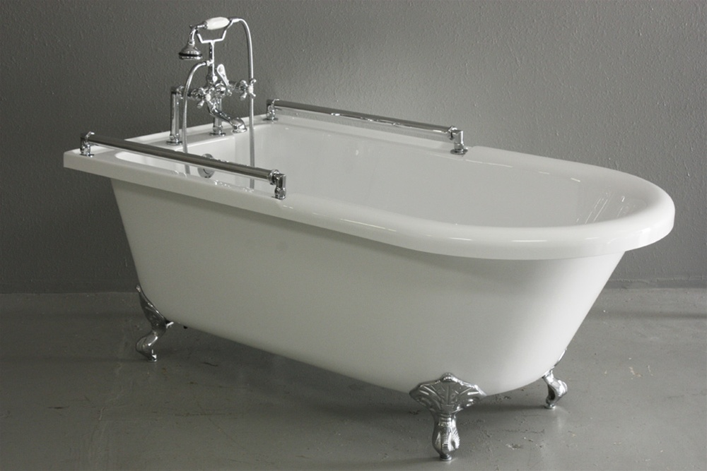 59 Towel Bar Classic Clawfoot Tub And Faucet Pack
