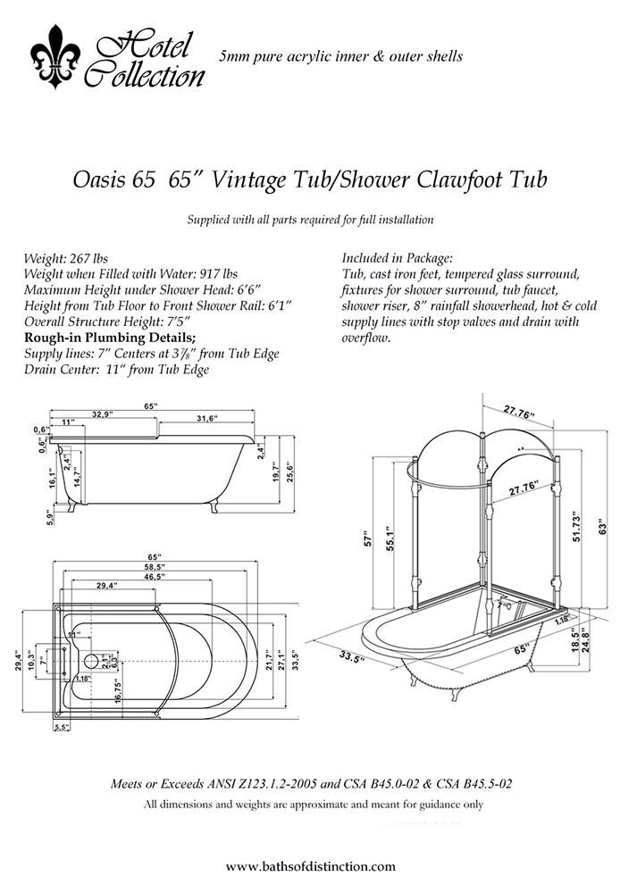 Shower Rough In Dimensions - Mobroi.com
