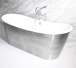 clawfoot tubs, freestanding bathtubs: baths of distinction