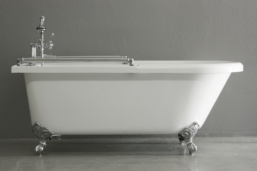 Extra Deep Clawfoot Tub. ACFL59FPK 59  Extra Wide Classic Clawfoot Tub Towel Bar and Faucet Pack