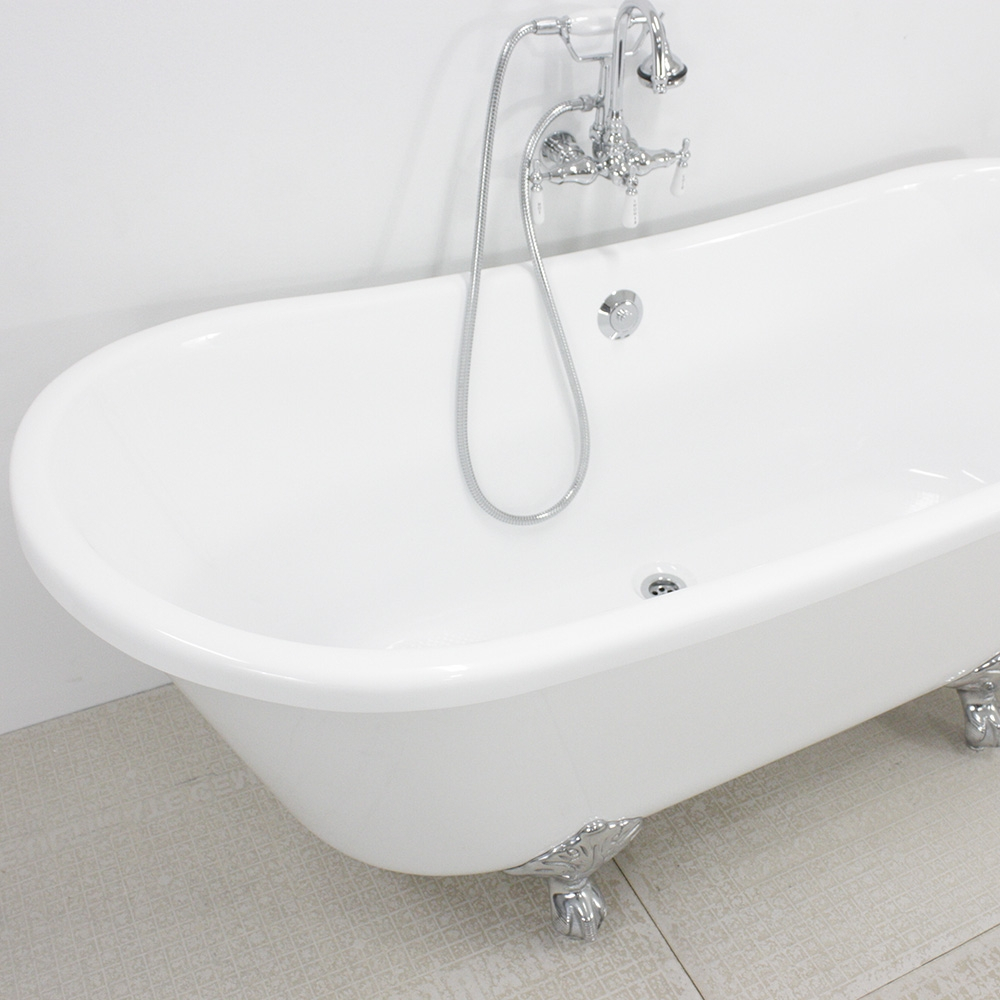 extra deep clawfoot tub. HLBT67FPK 67  Hotel Collection French Bateau Clawfoot Tub and Faucet Package
