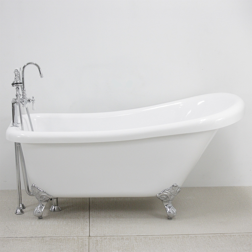 48 inch clawfoot tub. HLSL57FPK 57  Hotel Collection Single Slipper Clawfoot Tub and