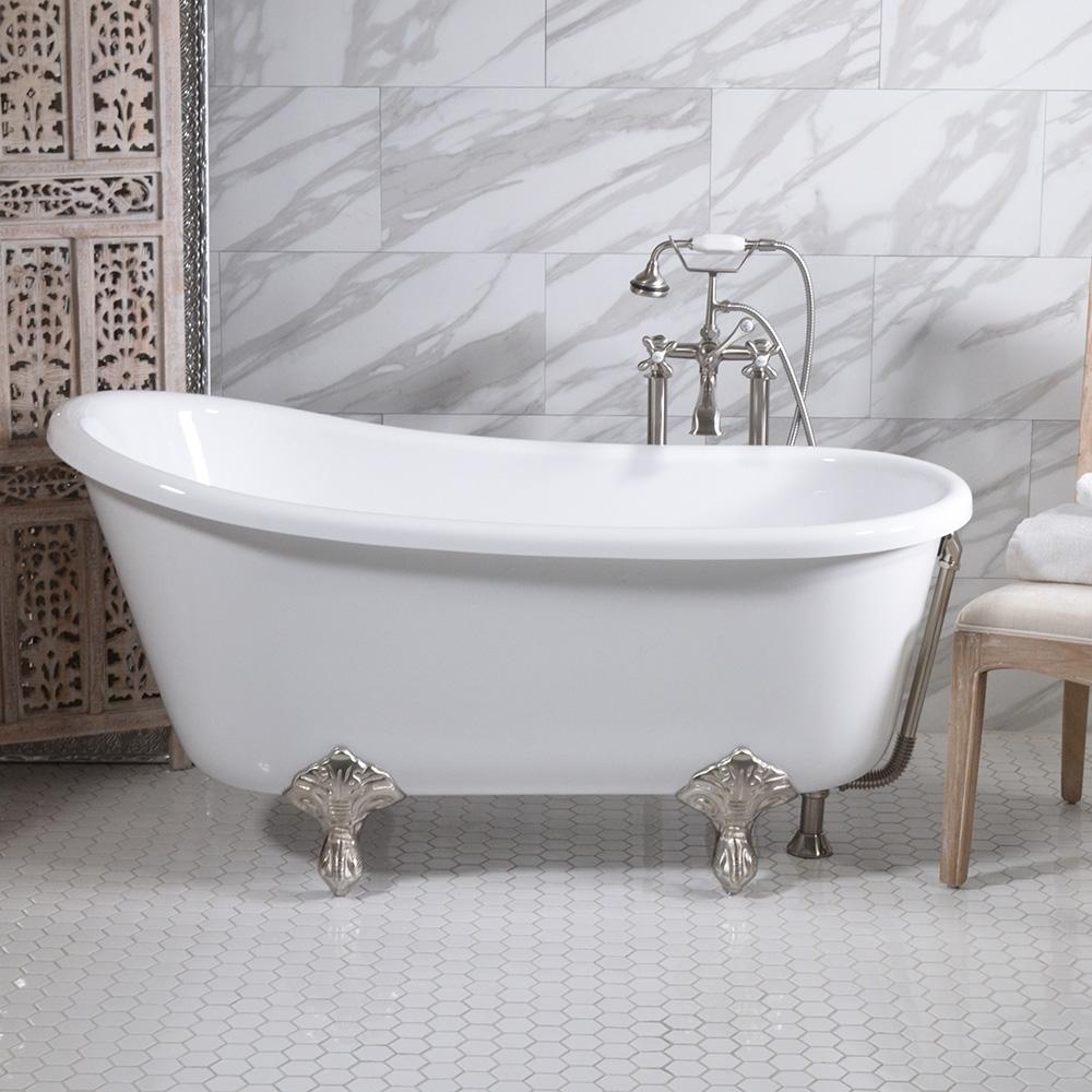 54 Inch Bathtub Discount Clawfoot Bathtubs Bathtubs Idea